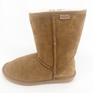 Minnetonka Olympia Short Boot Size 10